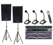 Conference sound system pack