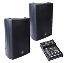 Large Speaker Pack with Mixer